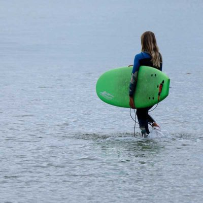 hire soft top surfboard